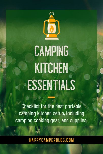 Pinterest Pin Template with Camping Essential Tips 2246