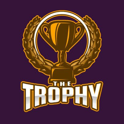 Gaming Logo Creator Featuring a Trophy Graphic 1750ff-2931