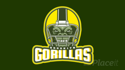 Cool Animated Logo Maker with a Helmet Graphic for a Football Team 1748x-2932