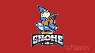 Animated Logo Creator with a Gnome Clipart a383oo-2927