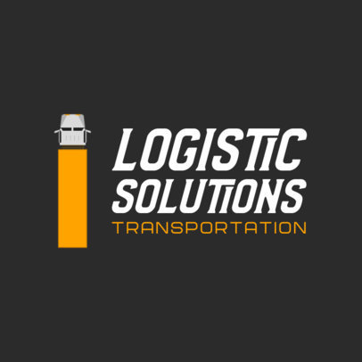 Simple Logo Maker for a Logistics Company 749a-el1