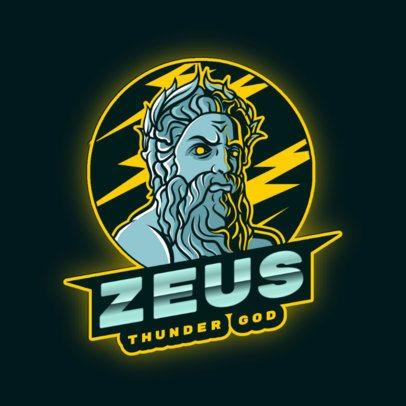 Logo Creator Featuring The Formidable Zeus 2920i