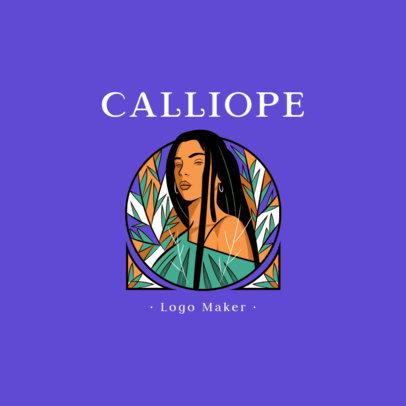 Online Logo Maker Featuring a Beautiful Illustration 2955e