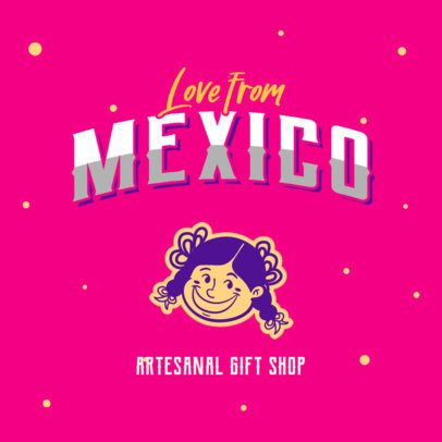 Mexican Logo Creator for an Artesanal Gift Shop 2978d
