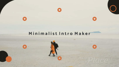 Minimalist Intro with Circular Motion Graphics 329