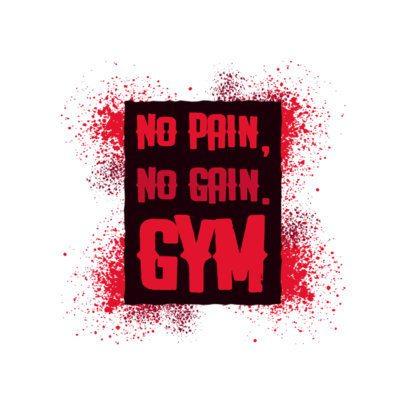 Gym Logo Generator Featuring Stencil Art 2997e