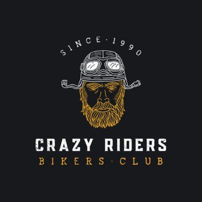 Logo Maker for a Bold Bikers Club 924-el1