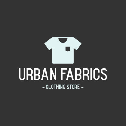 Streetwear Logo Maker with a Simple Shirt Icon 919b-el1