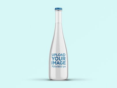 Mockup of a Stylish Water Bottle 3063-el1