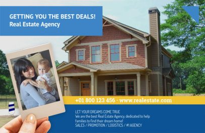 Real Estate Flyer Maker with Horizontal Layout 251a