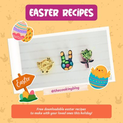 Instagram Post Creator for Easter Recipes 2323i