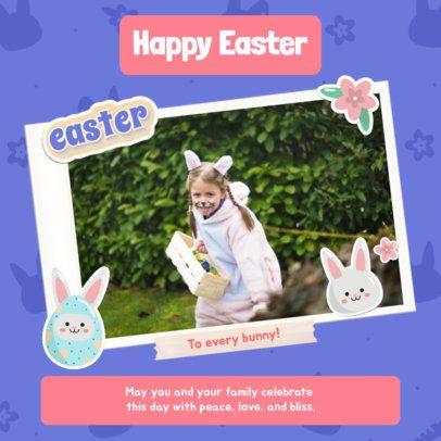 Instagram Post Maker for an Easter Egg Hunt 2323d
