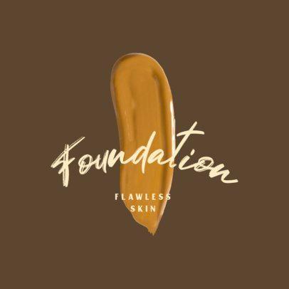 Logo Maker for a Makeup Foundation Brand 3009a
