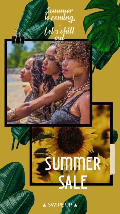 Instagram Story Maker for a Summer Season Sale 2320c