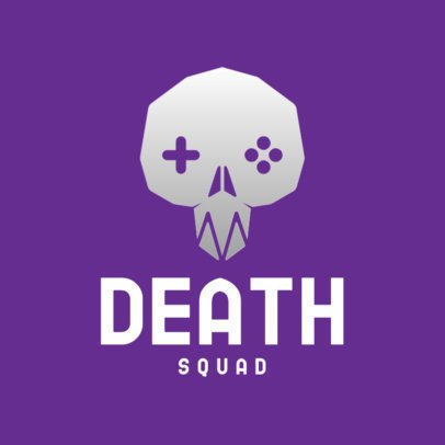 Logo Maker for a Deadly Gaming Squad 3044c