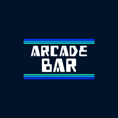 8-Bit Logo Creator for a Gaming Bar 3062b