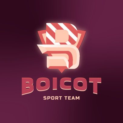 Gaming Logo Maker for a Sports Streaming Channel 3070b