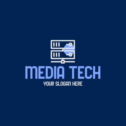 Logo Creator for a Tech Company with Internet Server Graphics 593c-el1