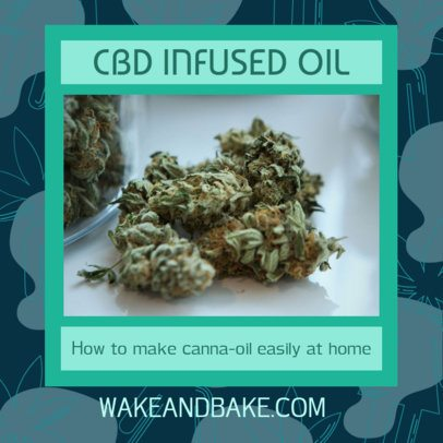 CBD-Related Facebook Post Maker 2375i