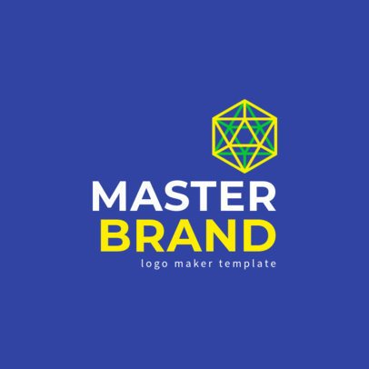 Logo Maker for a Business Organization with a Minimalist Graphic 1529g