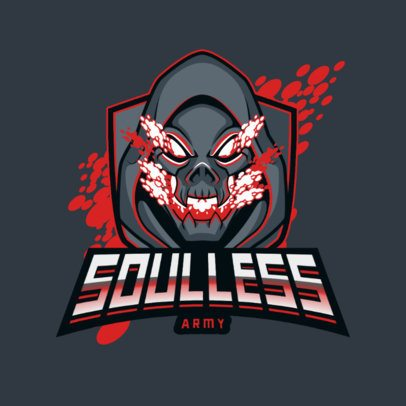 Online Logo Maker for Gamers Featuring a Soulless Creature 3075a