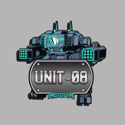 Gaming Logo Maker Featuring Titanfall-Inspired Graphics 3092a