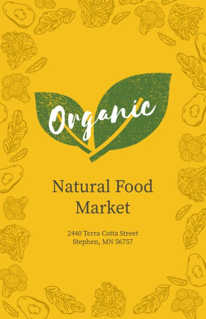 Organic Market Online Flyer Maker 183c