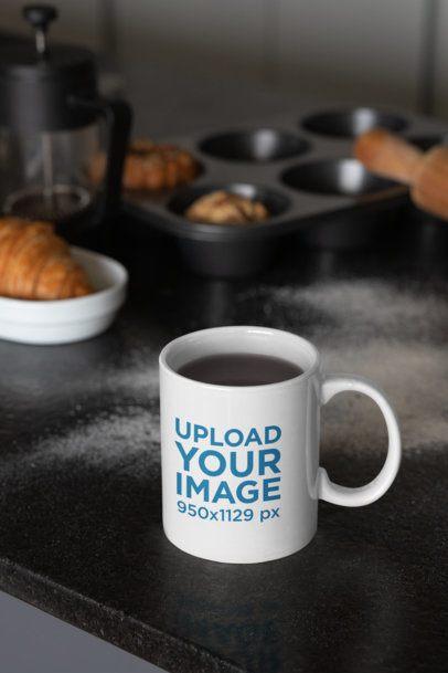 11 oz Coffee Mug Mockup by Some Bread 33198