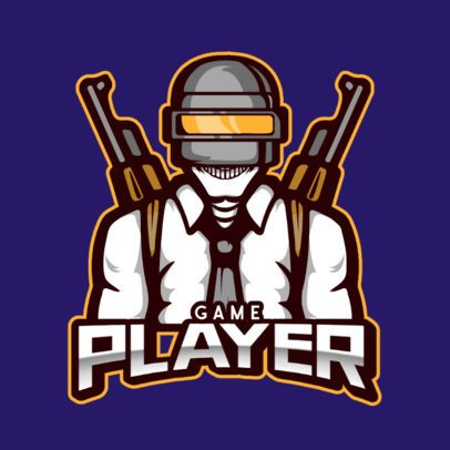 Team Logo Maker Featuring a PUBG-Inspired Shooter 800f-el1