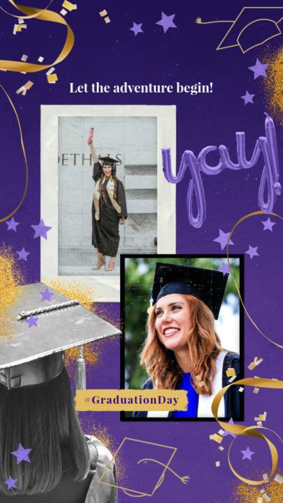 Instagram Story Generator for Graduates 2430m
