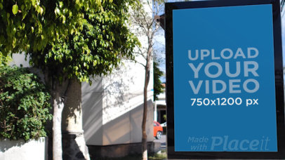 Video of a MUPI on an Urban Street 32965