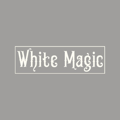 Abstract Logo Maker with Fantasy Typeface 3150d