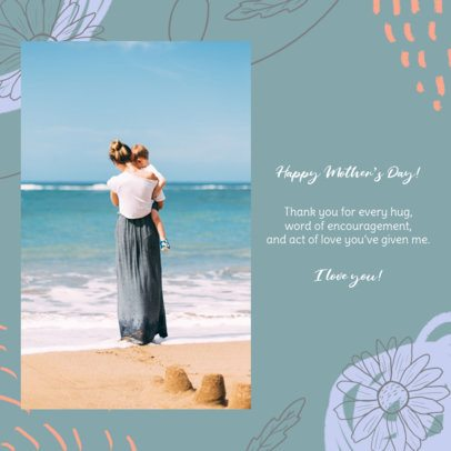 Instagram Post Maker To Acknowledge Mothers on Their Day 2452d
