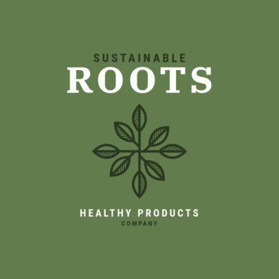 Logo Template for a Healthy Products Company 3171e