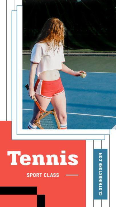 Cool Instagram Story Design Template for a Sportswear Brand 975-el1