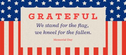 Facebook Cover Maker for a Memorial Day Remembrance 2487a