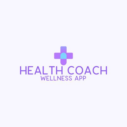 Medical Logo Maker for a Health Coach 3211a