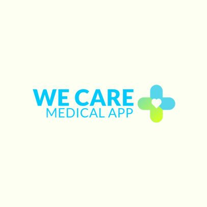 Logo Generator for a Medical App 3211b
