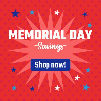 Memorial Day-Themed Banner Maker for a Special Promo 2488f