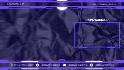 OBS Stream Overlay Generator with a Rugged Texture 2513l
