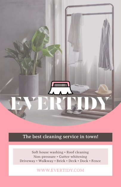 Online Flyer Maker for a Cleaning Service Company 271b