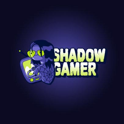 Online Logo Maker Featuring a Cool Gamer Illustration 3236h