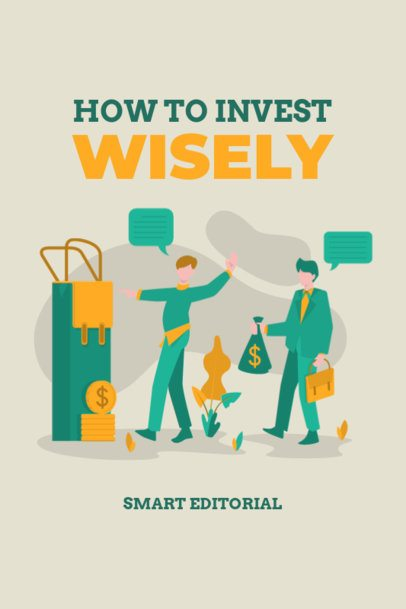 Fun Cover Design for a Finance-Related eBook 1426c-el1
