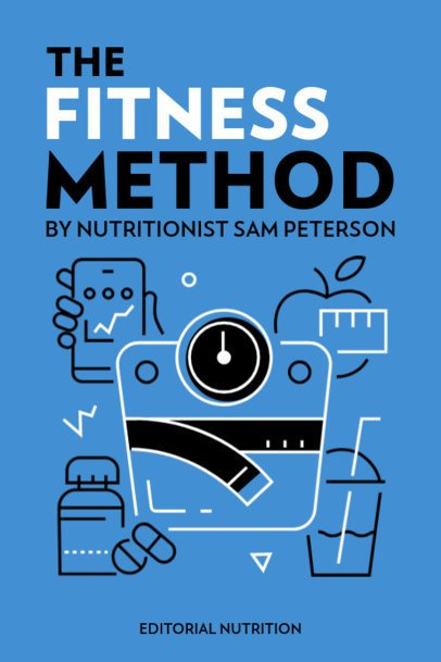 eBook Cover Creator for a Nutritionist's Fitness Method 1419b-el1