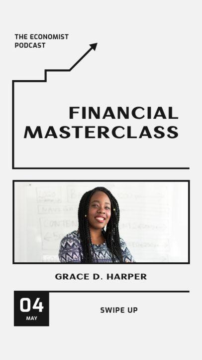 Instagram Story Creator for a Financial Masterclass 1366b-el1