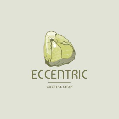Jewelry Logo Generator with a Precious Mineral Graphic 1354e-el1