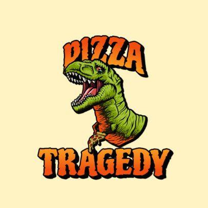 Santa Cruz-Inspired Logo Maker for Streetwear with a Dinosaur Graphic 3266i