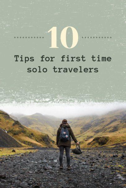 Solo Traveler Tips Pinterest Pin Maker 614a