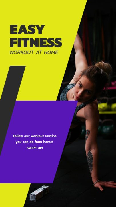 Instagram Story Maker with Easy Home Workouts 1473a-el1