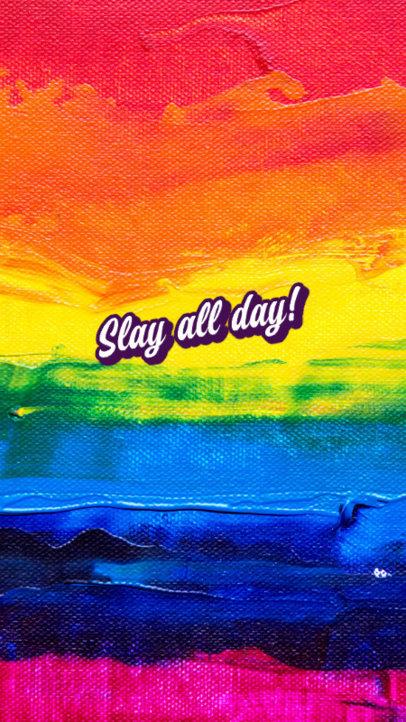 iPhone Wallpaper Design Maker with an LGBT Theme 2547k-2594